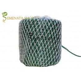 Супер здрав зелен гумен шлаух за връзване на всякакви видове растения (градинска връзка) Ф3 мм