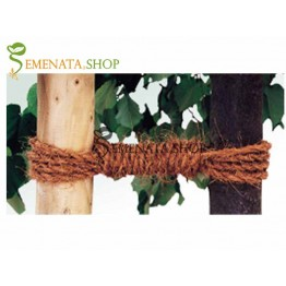 Кокосово въже за укрепване на дървета с висока якост - дължина около 15 м