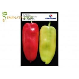 Семена на сръбски пипер Бяло ухо, вкусен и лесен за белене
