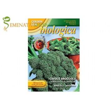 Семена Био на броколи сорт Калабрезе - изтънчен вкус и високи добиви
