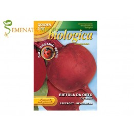 Био семена на салатно цвекло Детройт 2 - червено и едро