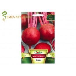 Семена на салатно цвекло Бордо - кръгло с тъмно червен цвят и отличен вкус