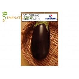 Семена на сръбски патладжан Черен принц F1 (Crni Princ F1) - много сладък с малки семки