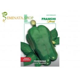 Семена на зелен италиански пипер сорт Yolo Wonder