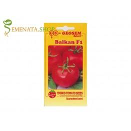 Семена на домати Балкан F1 - български сорт за ранно производство на открито и в оранжерия