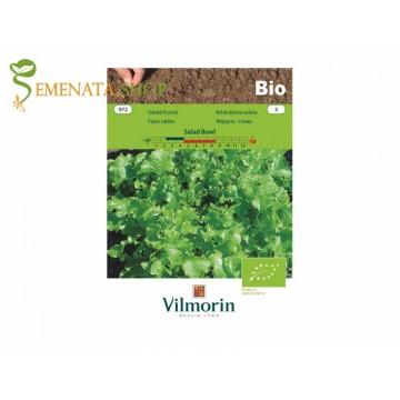 БИО семена на зелена салата къдрава Salad Bowl