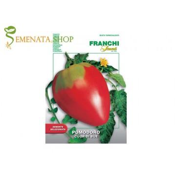 Семена на домати Биволско сърце червено от Франчи