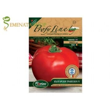 Семена на устойчиви сортове домати Български трапезен F1 - без целулоза, отличен вкус
