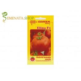 Геосем Селект семена на ранни сортове домати за открито и оранжерии Елина F1