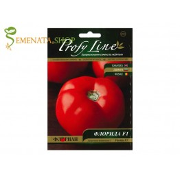 Семена на нискорастящи домати Флорида F1 (безколови) - с възможност за дозряване при обиране зелени