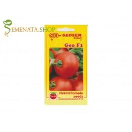 Средно ранозрял български сорт домати Гео F1 - за ранно и късно производство