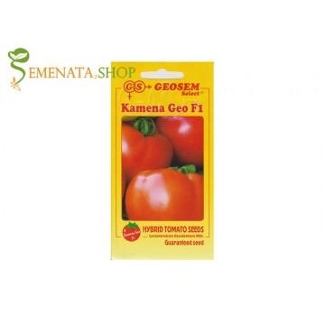 Семена на късни домати Камена Гео F1 с изключително дълго съхранение на плода (6 - 7 седмици)