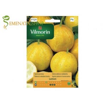 Оригинални семена на краставици Лимон - свежест и екзотика за Вашата градина