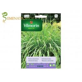Семена на Лимонова трева (Cymbopogon flexuosus) известна като Цимбопогон