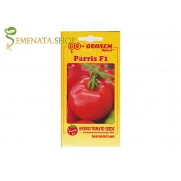 Семена на домати със супер къса вегетация Парис F1 (висок добив само за 30-40 дни)