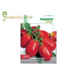 Семена на домати безколови консервни Рома за хубави пюрета и сокове