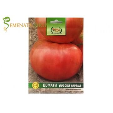 Български семена на едри сортове домати Розова Магия