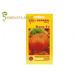 Семена на хибридни сортове домати Руен F1 селекция на Геосем Селект