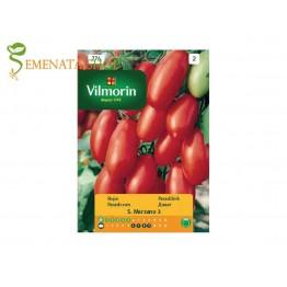 Семена на домати за пюре колови Сан Марцано 3 (San Marzano 3)