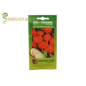 Семена на едри репички червени - хрупкави с много плътен вкус