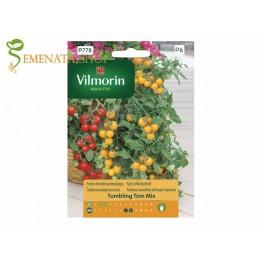 Семена на каскадни чери домати Тъмблинг Том (Tumbling tom) за висящи саксии