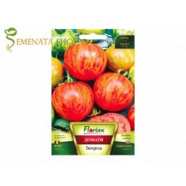 Семена на екзотични домати Тигерела - кордонен сорт с къса вегетация