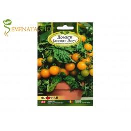 Семена на балконски чери домати оранжеви - Венус