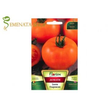 Семена на оранжеви домати екзотични сорт Злоти Озаровски
